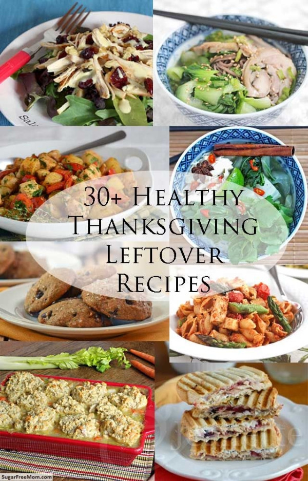 Healthy Thanksgiving Meals  Layered Thanksgiving Leftovers Casserole Recipe 30