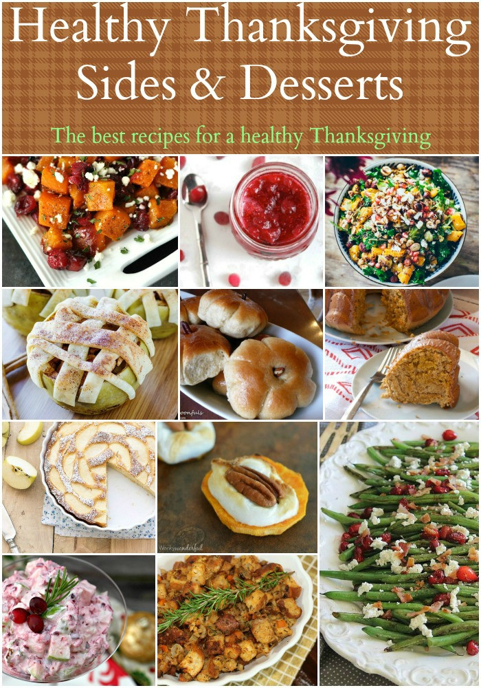 Healthy Thanksgiving Meals  Healthy Thanksgiving Sides & Desserts Recipes Food Done
