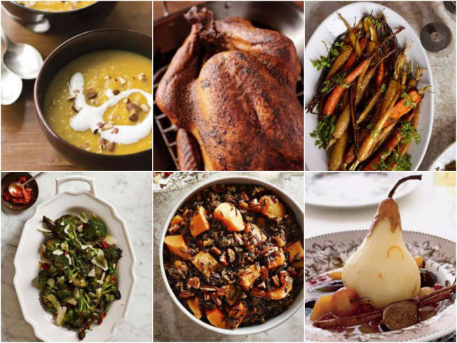 Healthy Thanksgiving Menu  A Healthy Thanksgiving Menu