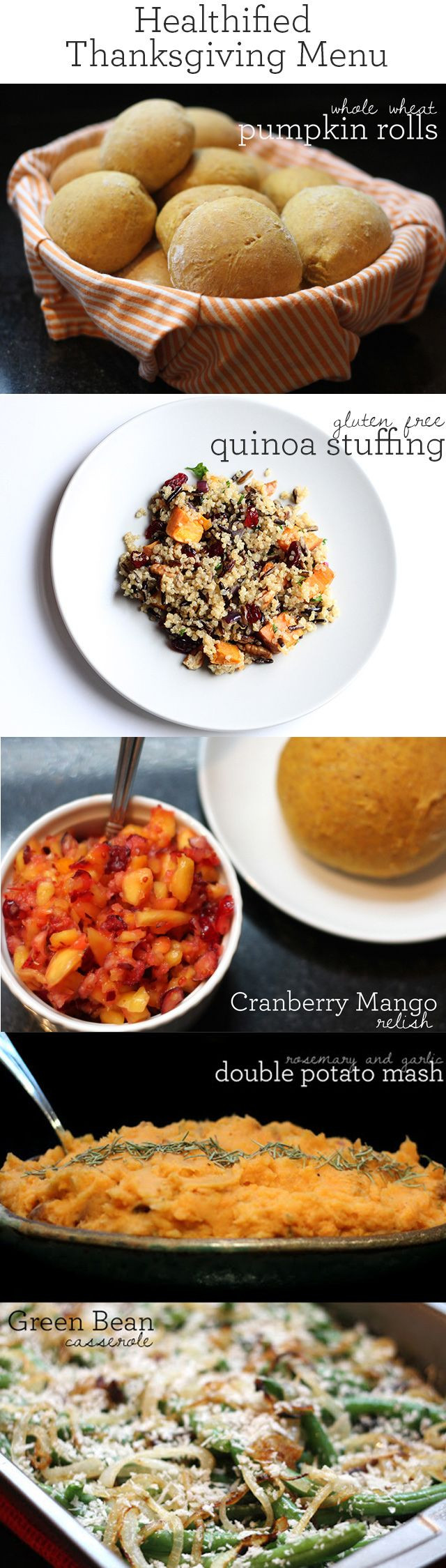 Healthy Thanksgiving Menu  Healthy Thanksgiving Recipe Ideas