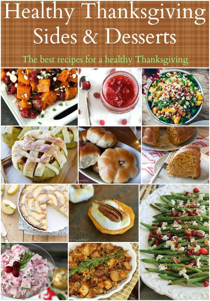 Healthy Thanksgiving Menu  Healthy Thanksgiving Sides & Desserts Recipes Food Done