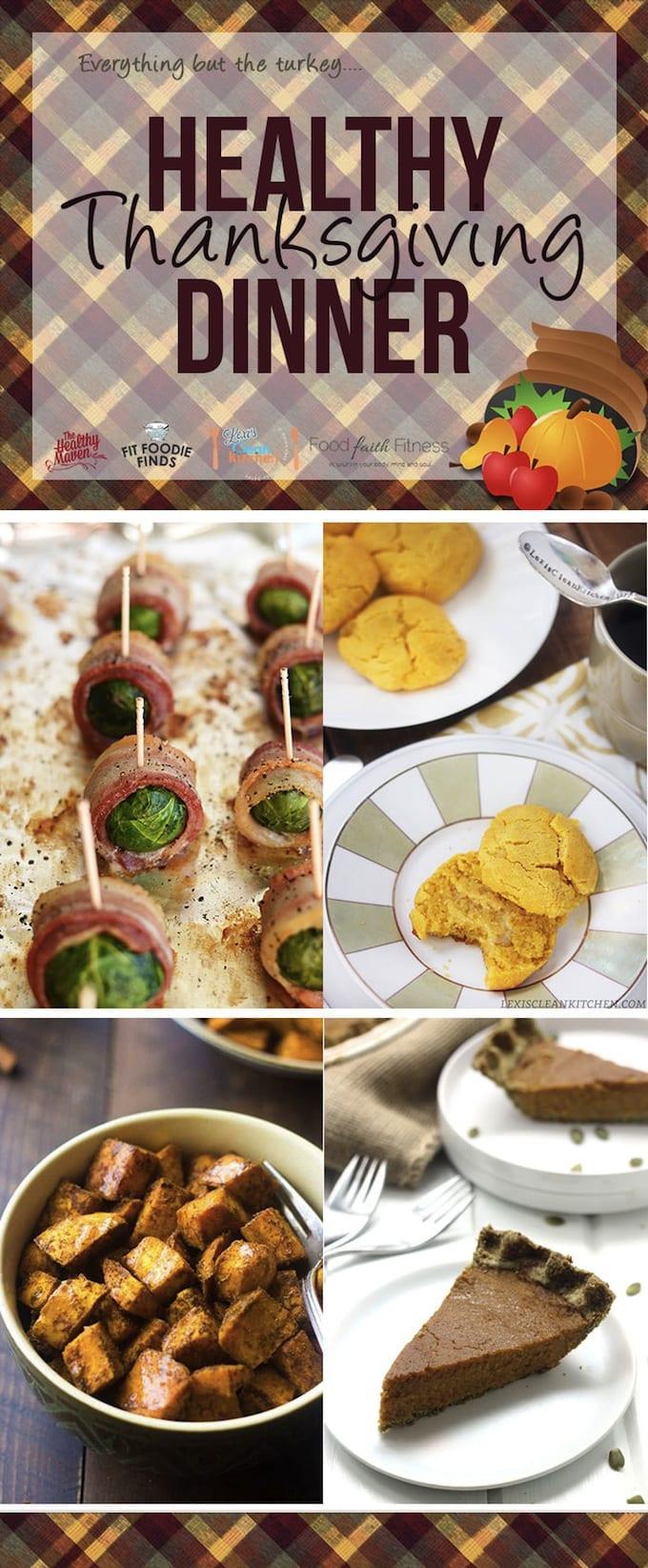 Healthy Thanksgiving Menu  Paleo Pumpkin Pie in a Pumpkin Seed Crust A Healthy