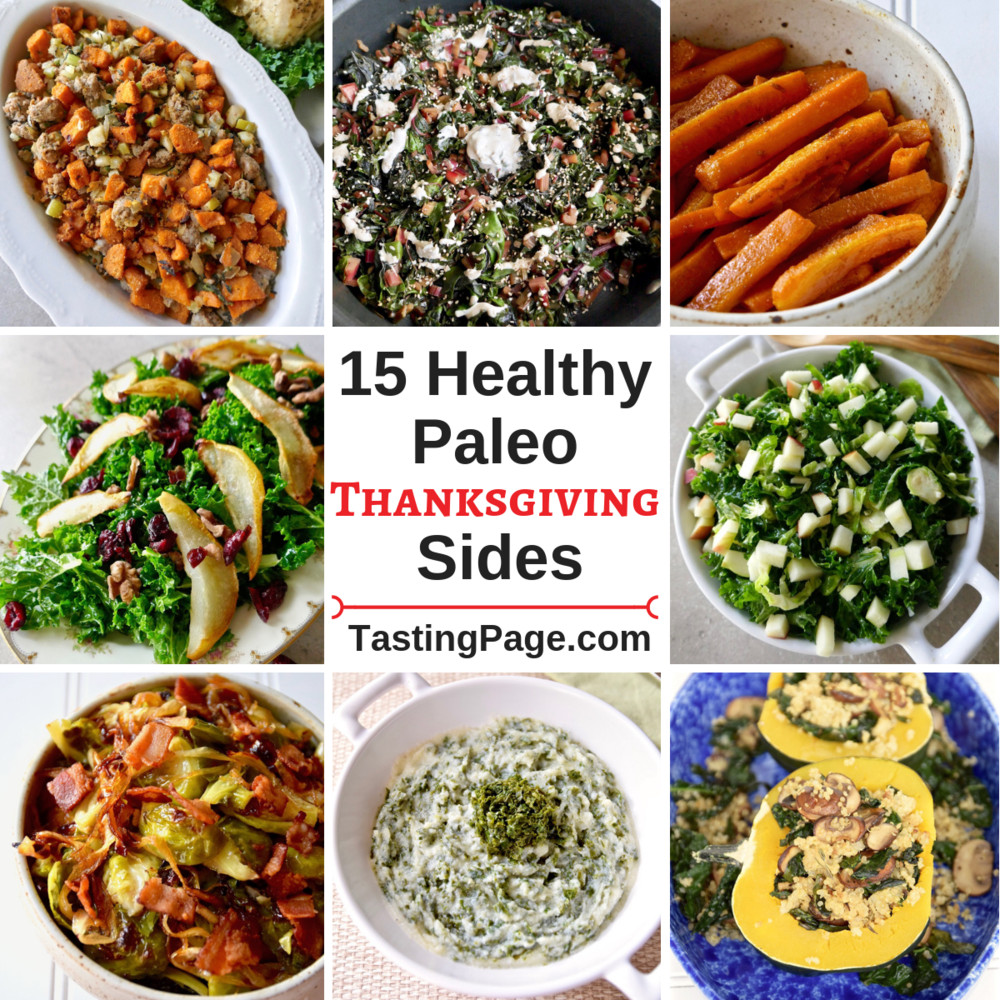 Healthy Thanksgiving Side Dish Recipes  Healthy Thanksgiving Side Dishes — Tasting Page