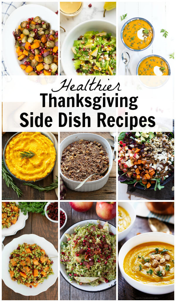Healthy Thanksgiving Side Dish Recipes  Healthier Thanksgiving Side Dish Recipes Spoonful of Flavor