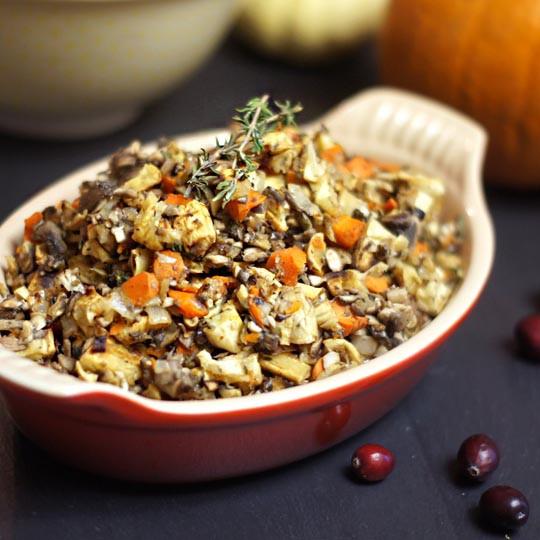 Healthy Thanksgiving Stuffing  10 Low Fat Vegan Gluten Free Thanksgiving Recipes