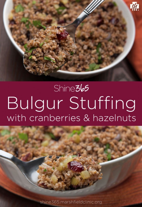 Healthy Thanksgiving Stuffing  Thanksgiving stuffing with a pinch of health