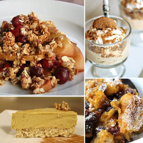 Healthy Thanksgiving Treats  Recipe Ideas Thanksgiving Dessert Recipe Ideas
