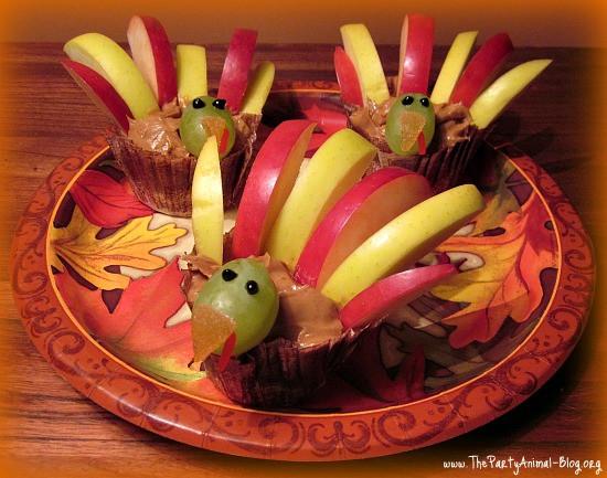 Healthy Thanksgiving Treats  Healthy Turkey Treats