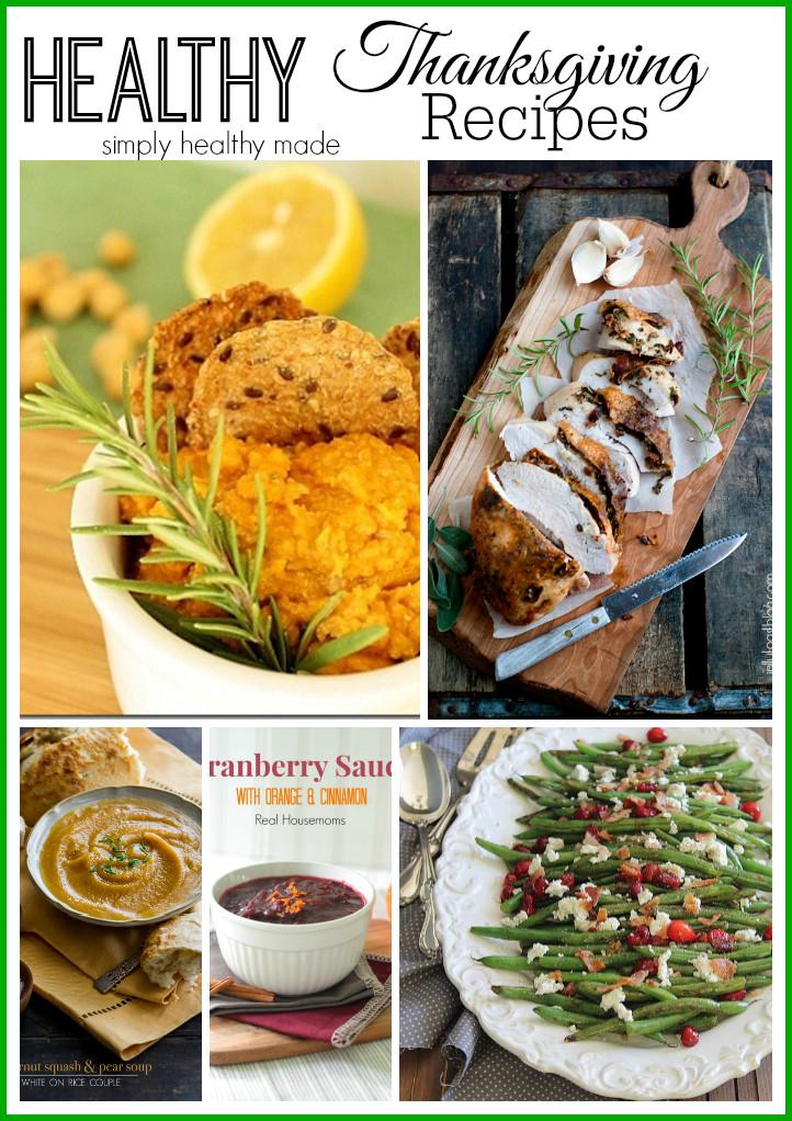 Healthy Thanksgiving Turkey Recipes  Healthy Thanksgiving Recipe Ideas Simply Healthy Made