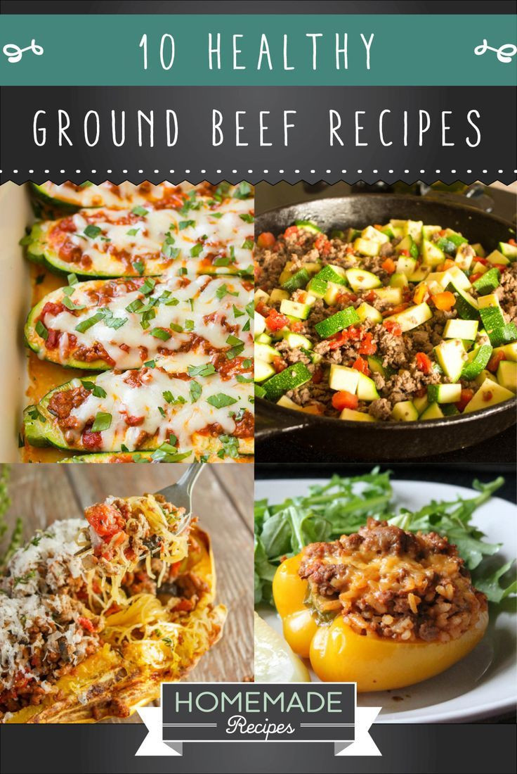 Healthy Things To Make With Ground Beef  22 best yummy things to make images on Pinterest