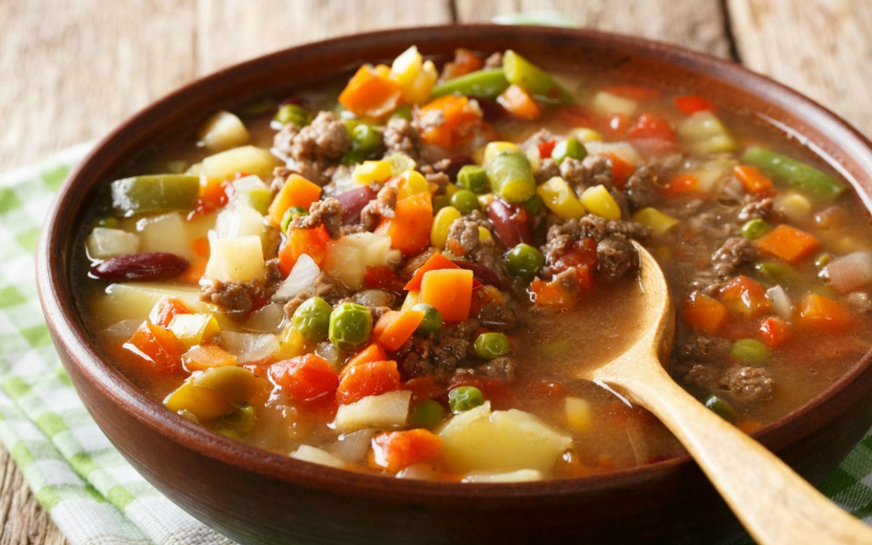 Healthy Things To Make With Ground Beef  15 Delicious Ways To Make Ground Beef Soup