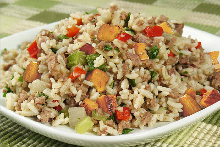 Healthy Things To Make With Ground Beef  How to make Dirty Rice Recipe with Ground Beef Easy Recipes
