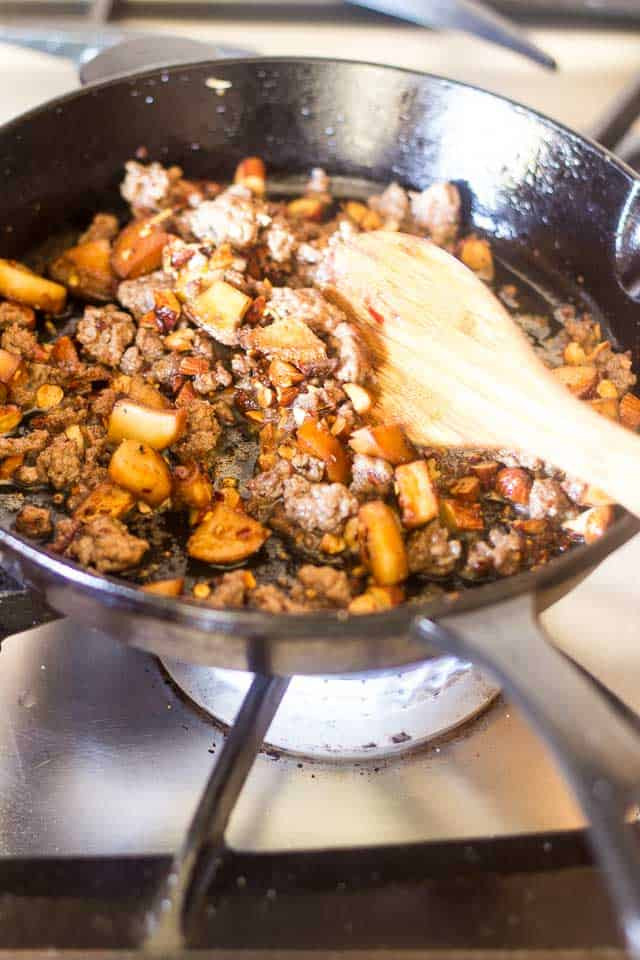 Healthy Things To Make With Ground Beef  Keto Ground Beef and Spinach Skillet
