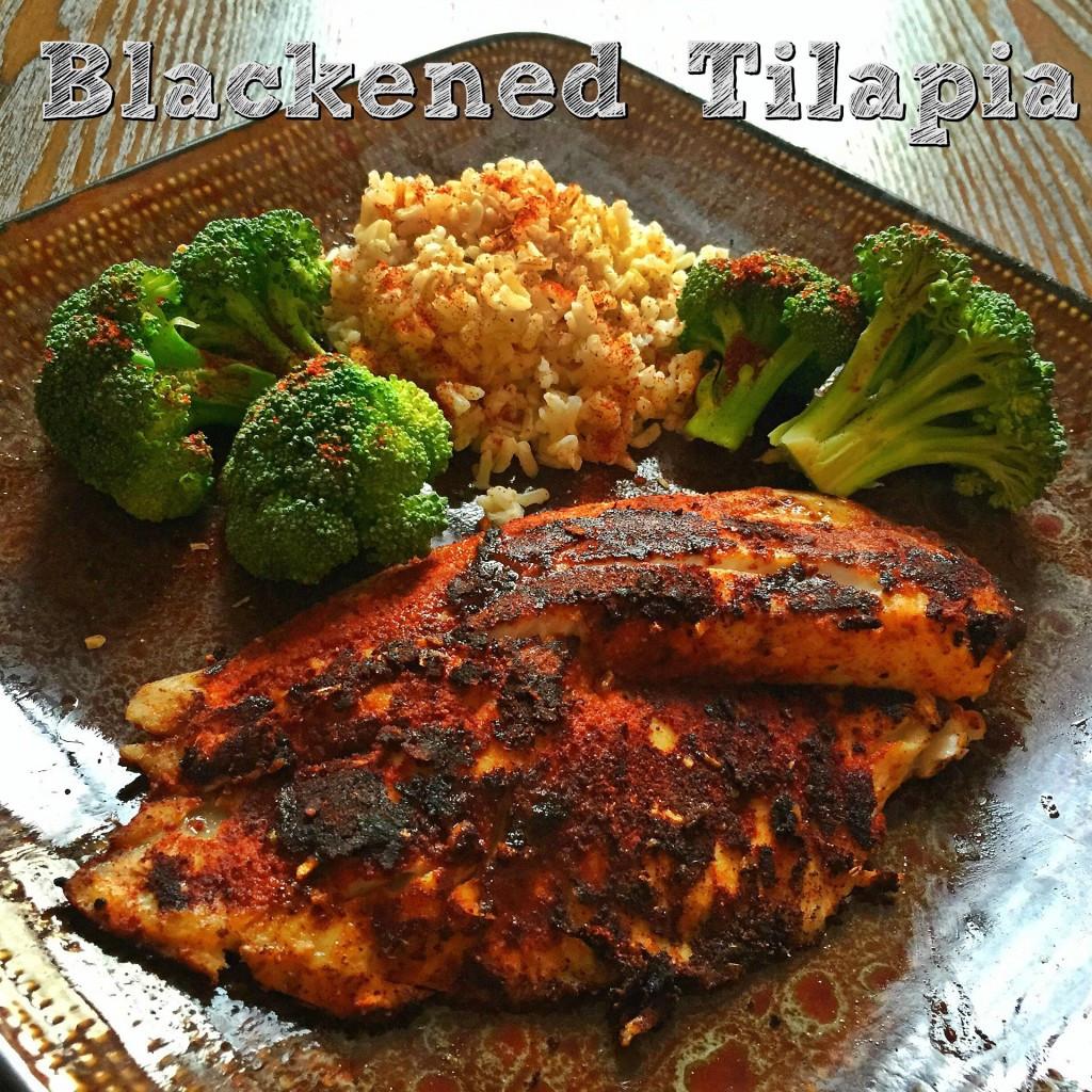 Healthy Tilapia Fish Recipes  Blackened Tilapia Focused on Fitness
