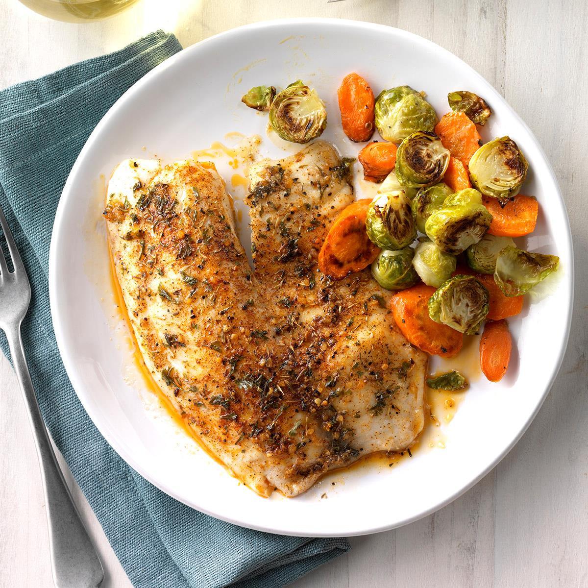 Healthy Tilapia Fish Recipes  Seasoned Tilapia Fillets Recipe