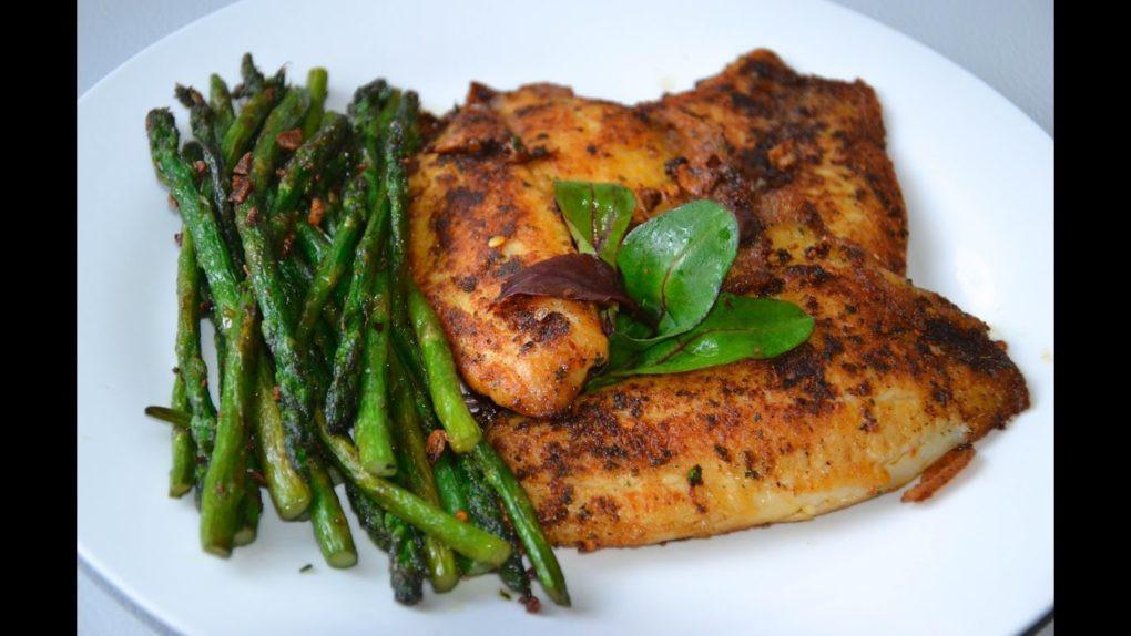 Healthy Tilapia Fish Recipes  Tilapia Fish Fillets with Asparagus