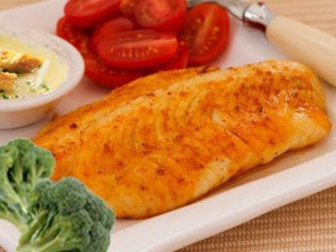 Healthy Tilapia Fish Recipes  Healthy pan fried tilapia fish Recipe Petitchef
