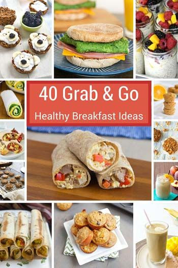 Healthy To Go Breakfast  680 best Grab & Go Breakfast Recipes images on Pinterest