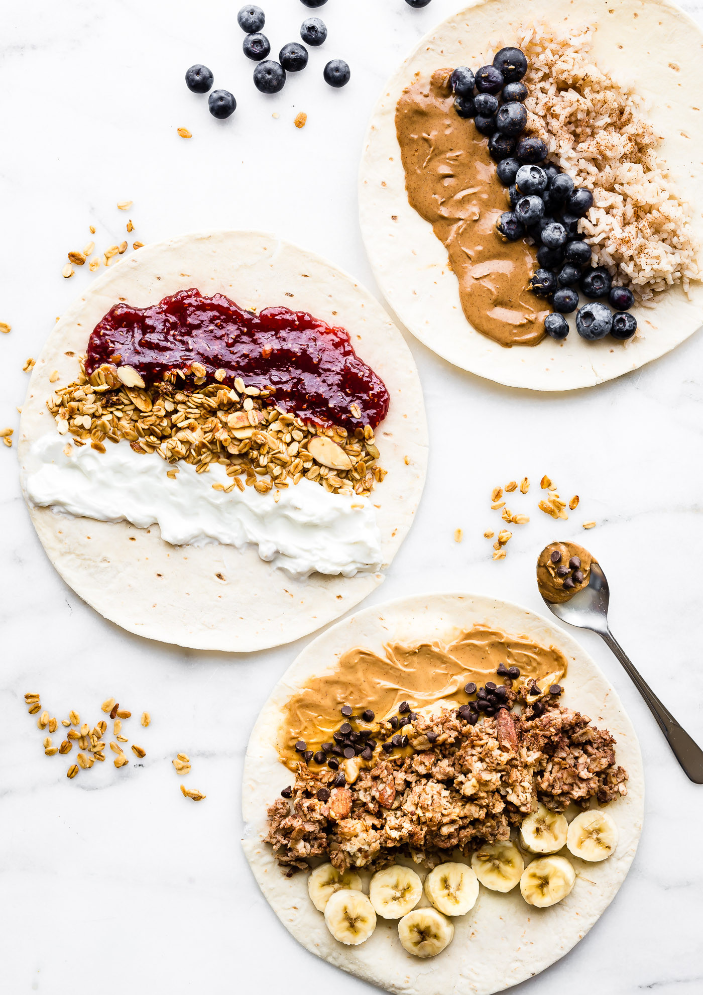 Healthy To Go Breakfast  Grab and Go Gluten Free Breakfast Wraps 3 Ways