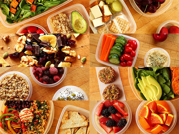 Healthy To Go Lunches  How to Grocery Shop for Packing Healthy Lunches To Go