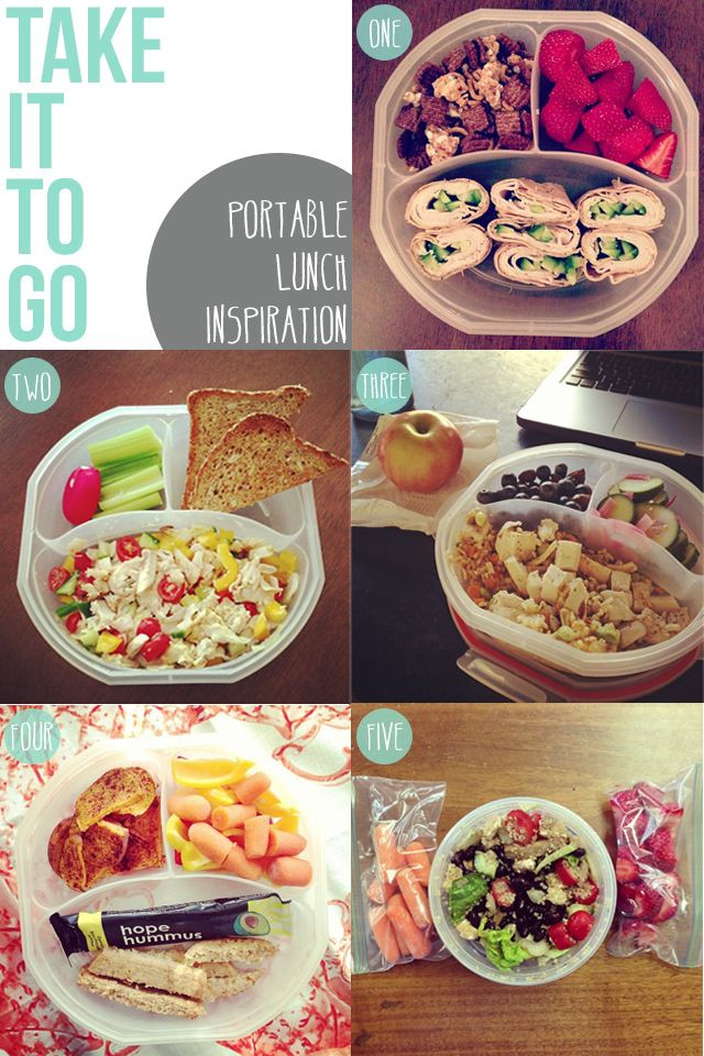 Healthy To Go Lunches  Take yourself from PB to inspired healthy portable