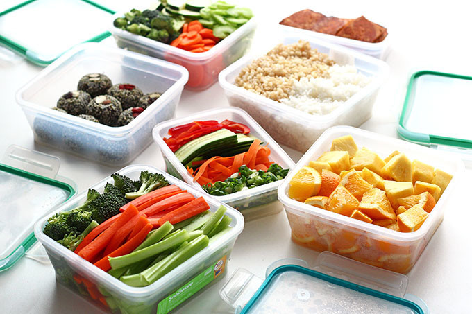 Healthy To Go Lunches  Meal Prepping for Healthy Vegan Lunches on the Go I LOVE