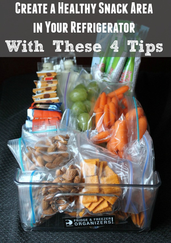Healthy To Go Snacks  Create a Healthy Snack Area in Your Refrigerator