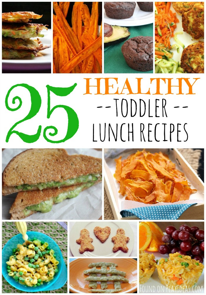 Healthy Toddler Lunches  25 Healthy Toddler Lunch Recipes – Play Ideas