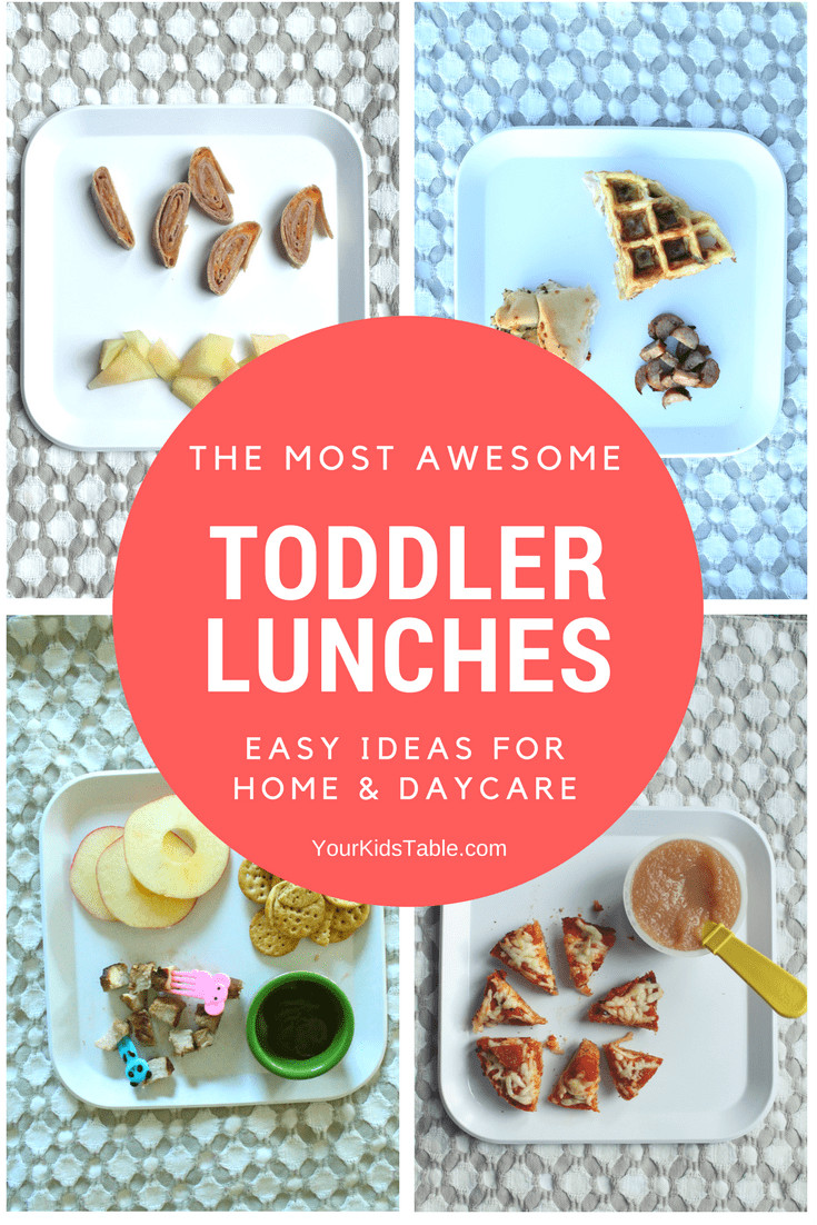 Healthy Toddler Lunches  Toddler Lunch Ideas Easy and Healthy for Home or Daycare