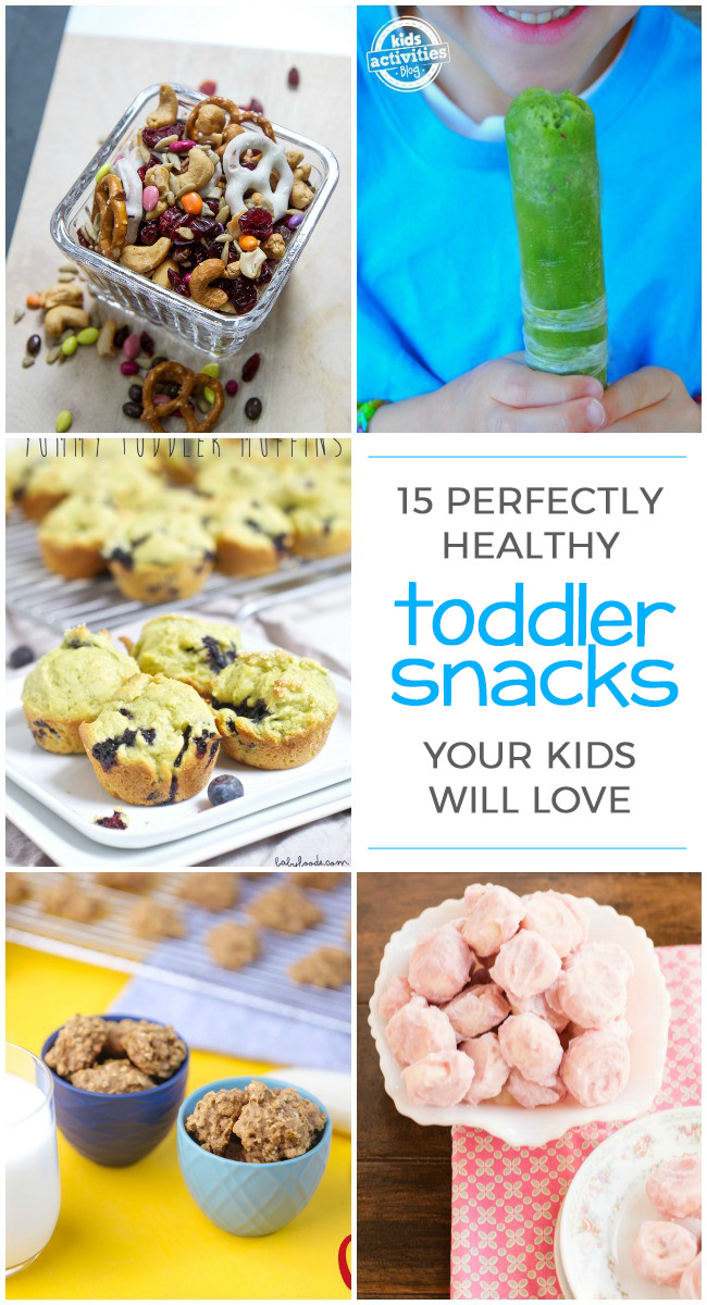 Healthy Toddler Snacks On The Go  15 Perfectly Healthy Snacks for Toddlers Kids Activities