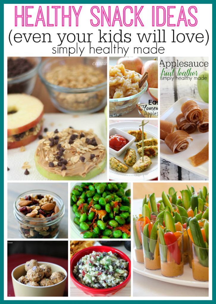 Healthy Toddler Snacks On The Go  Healthy Snacks for Kids Archives Simply Healthy Made