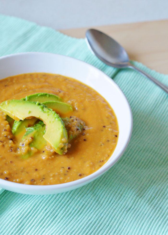 Healthy Tomato Bisque Recipe  Quick & Healthy Tomato Bisque With Quinoa Recipe — Dishmaps