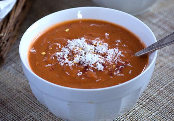 Healthy Tomato Bisque Recipe  Quick & Healthy Tomato Bisque with Quinoa