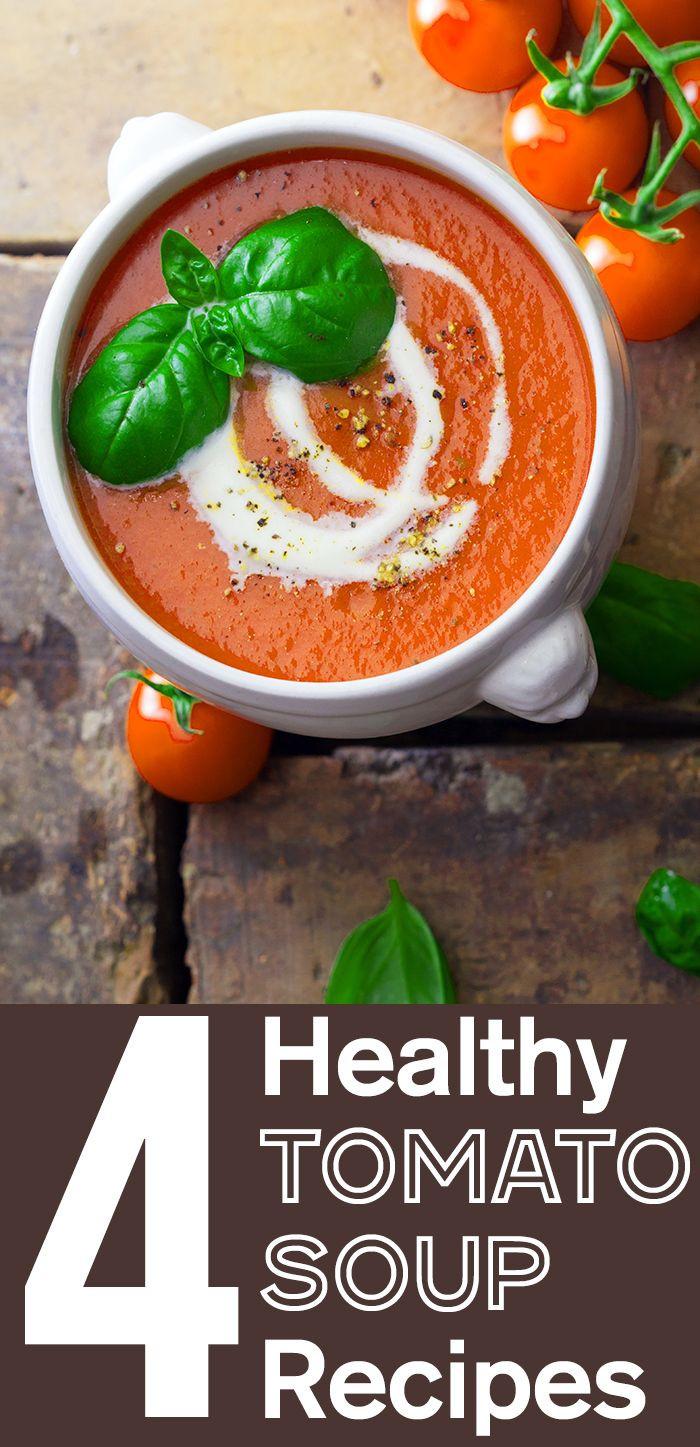 Healthy Tomato Soup Recipe  Best 25 Tomato soup recipes ideas on Pinterest
