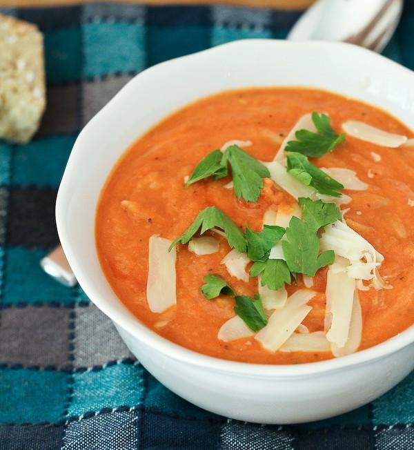 Healthy Tomato Soup Recipe  healthy creamy tomato soup recipe