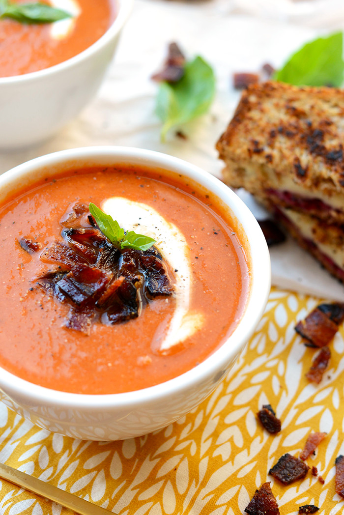 Healthy Tomato Soup Recipe  20 Minute Healthy Tomato Bisque Soup Fit Foo Finds