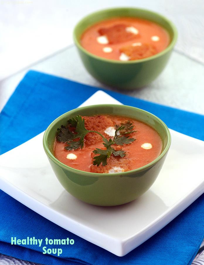 Healthy Tomato Soup Recipe  Healthy Tomato Soup Healthy Soups and Salads Recipe