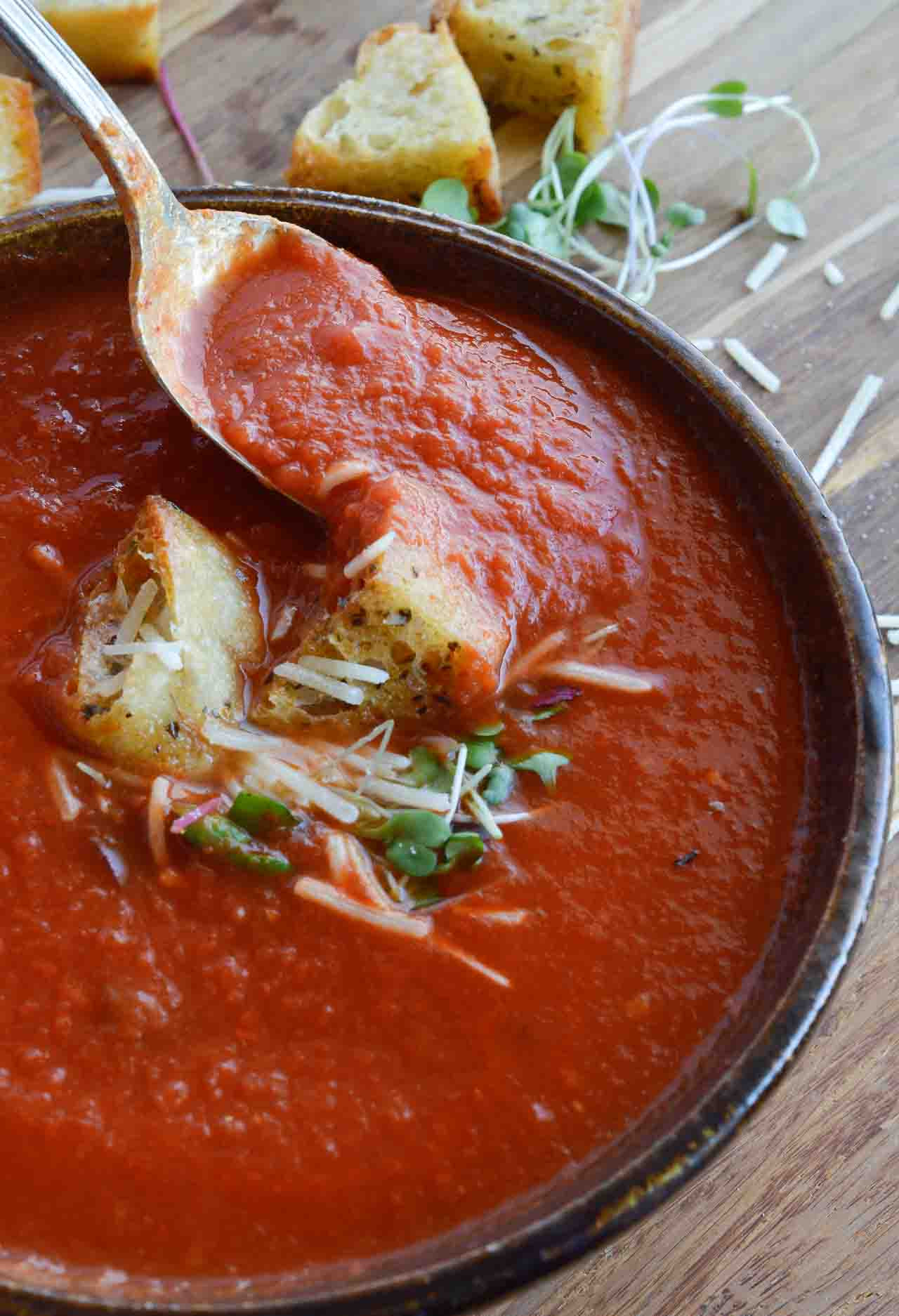 Healthy Tomato Soup Recipe  Easy Tomato Soup Recipe WonkyWonderful