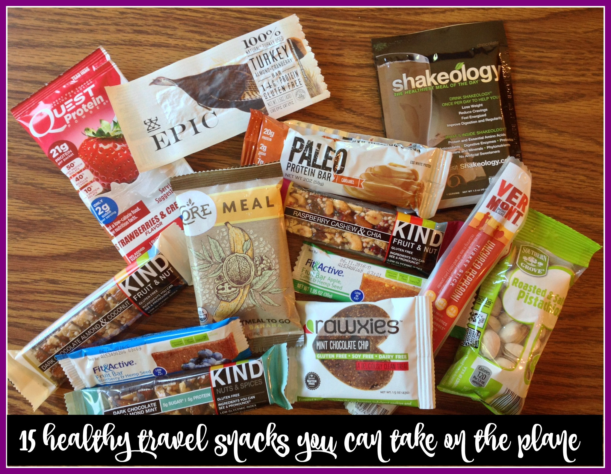 Healthy Travel Snacks  15 Healthy Travel Snacks You Can Take The Plane Weigh
