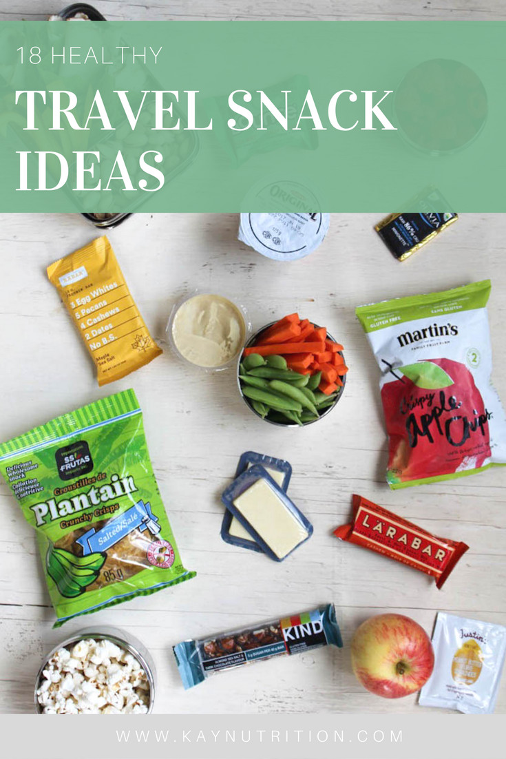 Healthy Travel Snacks  18 Healthy Travel Snack Ideas Stephanie Kay