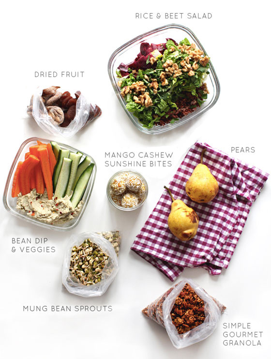 Healthy Travel Snacks  14 Healthy Ideas For Meals on the Go Little Green Dot