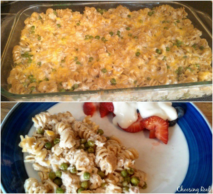 Healthy Tuna Casserole With Greek Yogurt  Easy Healthy Tuna Noodle Casserole with Greek Yogurt