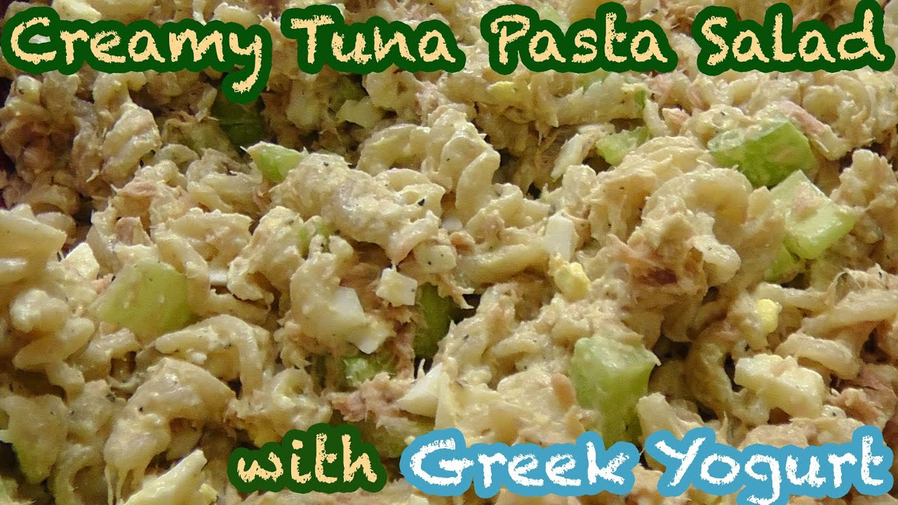 Healthy Tuna Casserole With Greek Yogurt  tuna pasta bake with greek yogurt