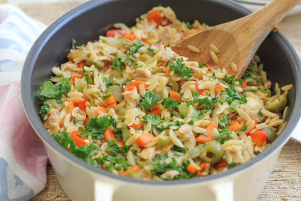 Healthy Tuna Dinners Best 20 Quick and Healthy Dinner orzo with Tuna • Hip Foo Mom