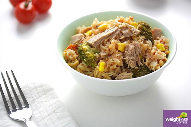 Healthy Tuna Recipes Weight Loss  Italian Tuna Pilaf