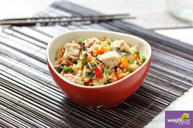 Healthy Tuna Recipes Weight Loss  Tuna Fried Rice