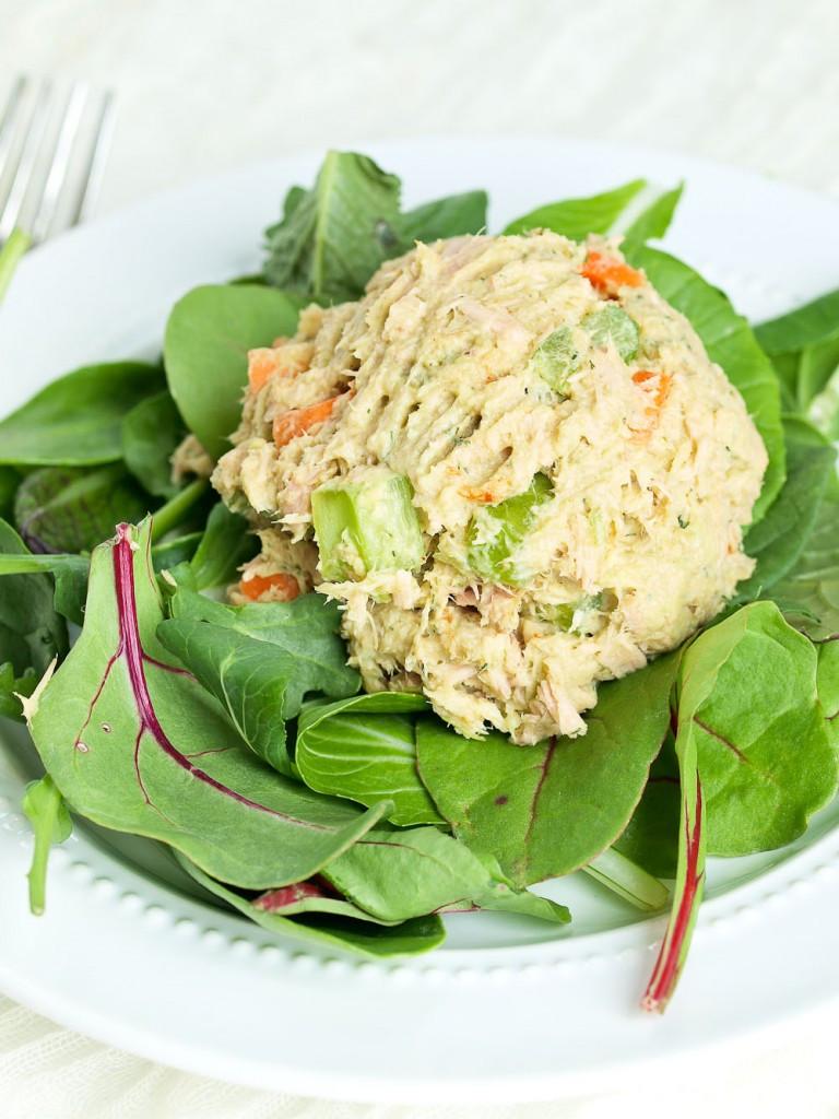 Healthy Tuna Recipes Weight Loss  Avocado Tuna Salad No Mayo Happy Healthy Mama