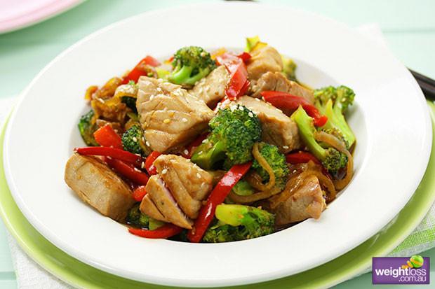 Healthy Tuna Recipes Weight Loss  Tuna and Broccoli Stir Fry