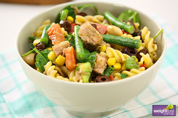 Healthy Tuna Recipes Weight Loss  Tuna Tomato Pasta Salad