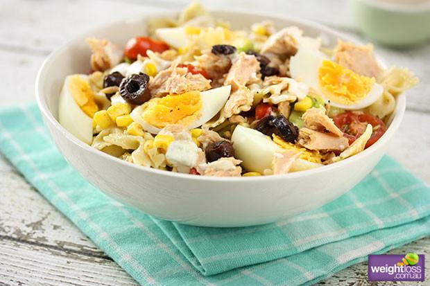 Healthy Tuna Recipes Weight Loss  Spanish Tuna Pasta Salad